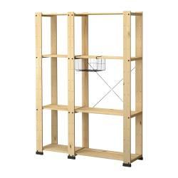 Devo costruire gli scaffali del mio sgabuzzino consigli suggerimenti legno metallo - Scaffali in metallo ikea ...