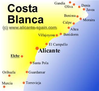 Испания коста бланка достопримечательности