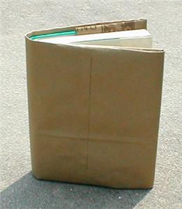 How many of you used a brown paper bag to