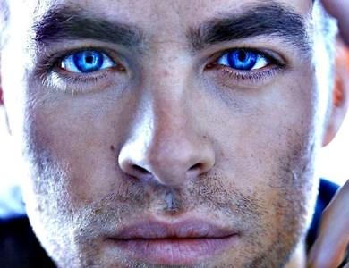 Chris Pine Eyes