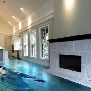 peinture au sol avec effet 3d toluna. Black Bedroom Furniture Sets. Home Design Ideas