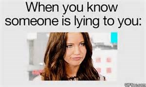how to tell when someones lying