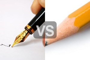 pens vs. pencils essay Pencil for long-term writing  essays, lifestyle,  then they had access to pens and ink, but at the front, pencil every time i checked a few comments by first.