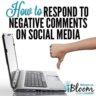 negative thoughts on social media