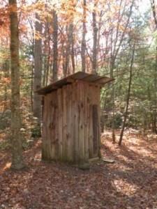 Avez-vous connus les toilettes au fond du jardin : | Toluna
