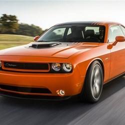 оранжевый автомобиль dodge challenger shaker бесплатно