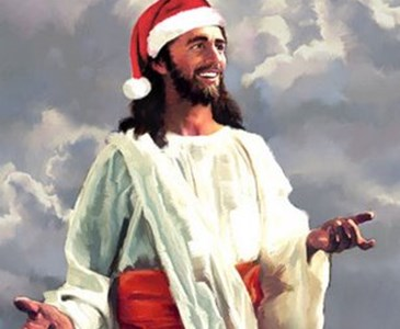 what does santa claus have to do with jesus or his birth - Jesus Santa