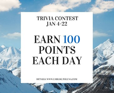 Trivia contest of the week