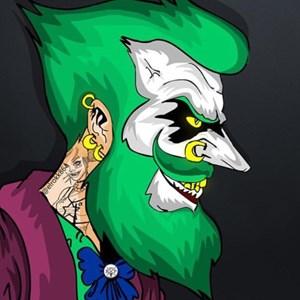 joker和哈莉卡通头像