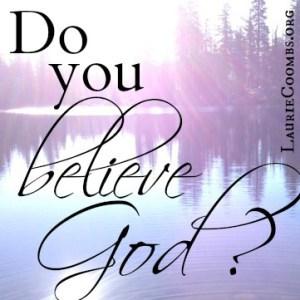 do you believe in god essays