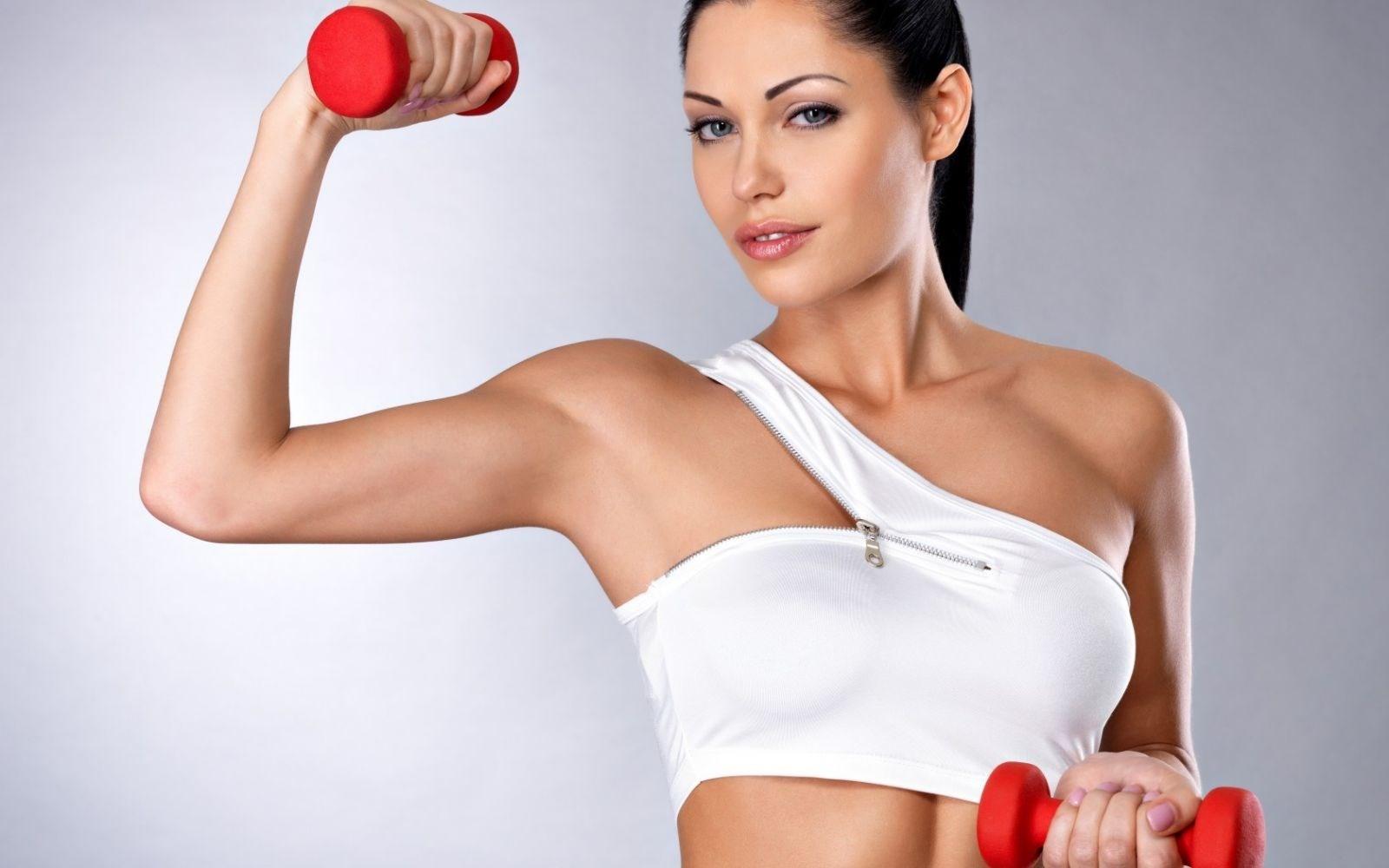 Упражнения при похудании оставить грудь прежней
