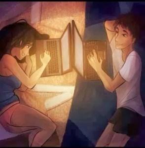 Namoro virtual é para fracos? Amor virtual dói?