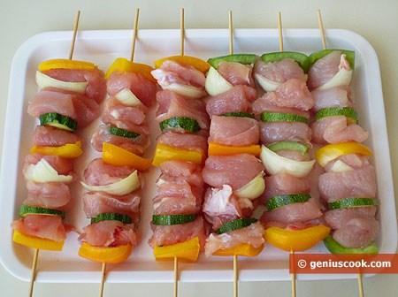 куриное филе шпажках рецепты с фото