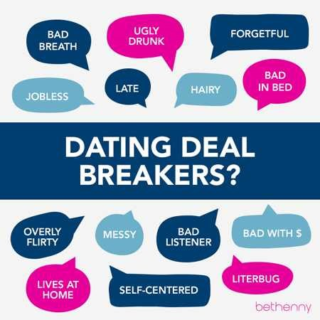 dating deal breakers meaning