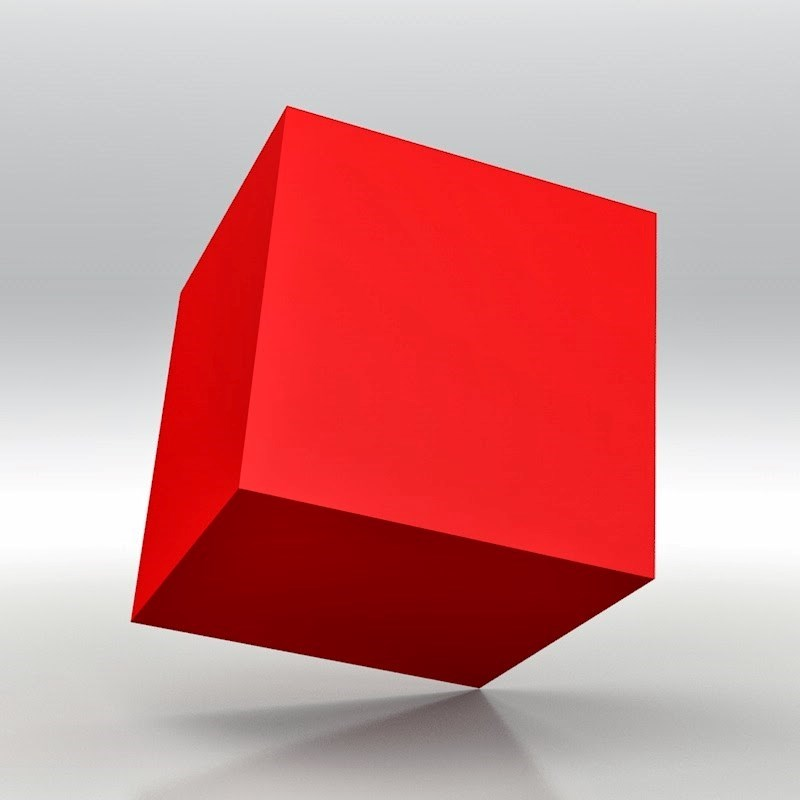 Sutd cube - cube with one single line