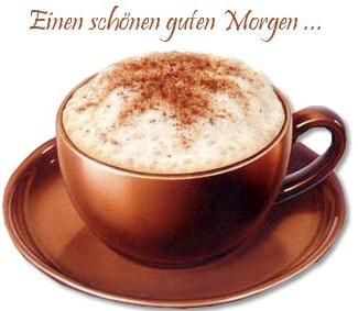 Guten Morgen Ich Genieße Heute Mit Verspätung Meinen Kaffee