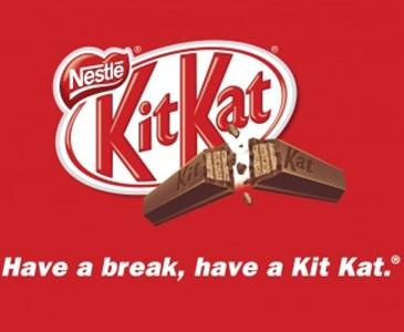 Belle Le slogan de Kit-Kat suivi au pied de la lettre...   Toluna MU-42