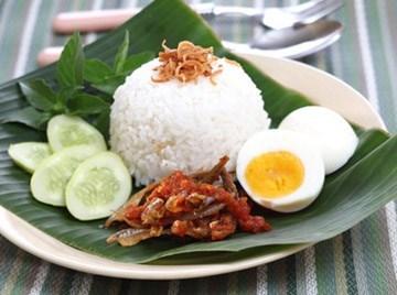 Nasi Lemak Adalah Makanan Yang Terkenal Di Malaysia Saya Suka