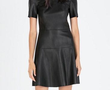 talla 40 ventas especiales 100% autentico El vestido de cuero de Zara? | Toluna