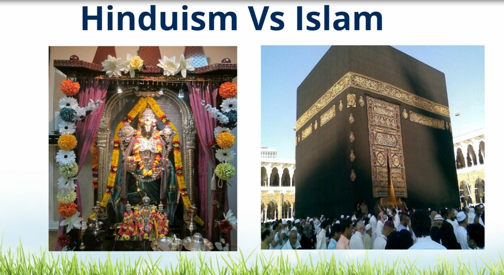 similarities and differences between christianity hinduism 2015-3-18 hinduism and buddhism are two religions that began in south east asia although there are differences between the two,both believe that with time all.