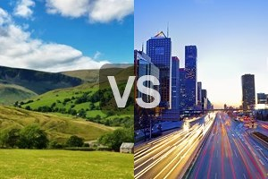 countryside lifestyle vs city lifestyle City vs countryside life loveteaching 2016-05-07 18:07:46 this worksheet helps students get familiarised with words when talking about the advantages and disadvantages of living in a city or in the country.