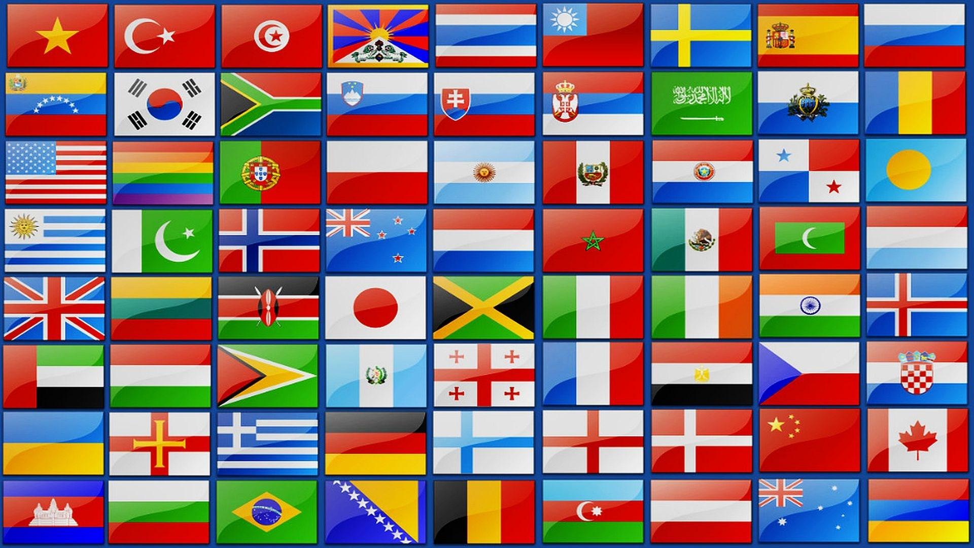 Флаги всех стран с картинками