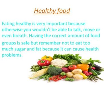 healthy eating important essay Education reform essays - the importance of teaching healthy eating habits.
