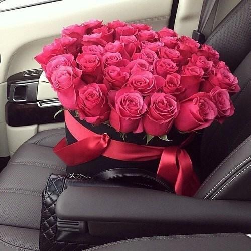 Когда же цветок стал подарком