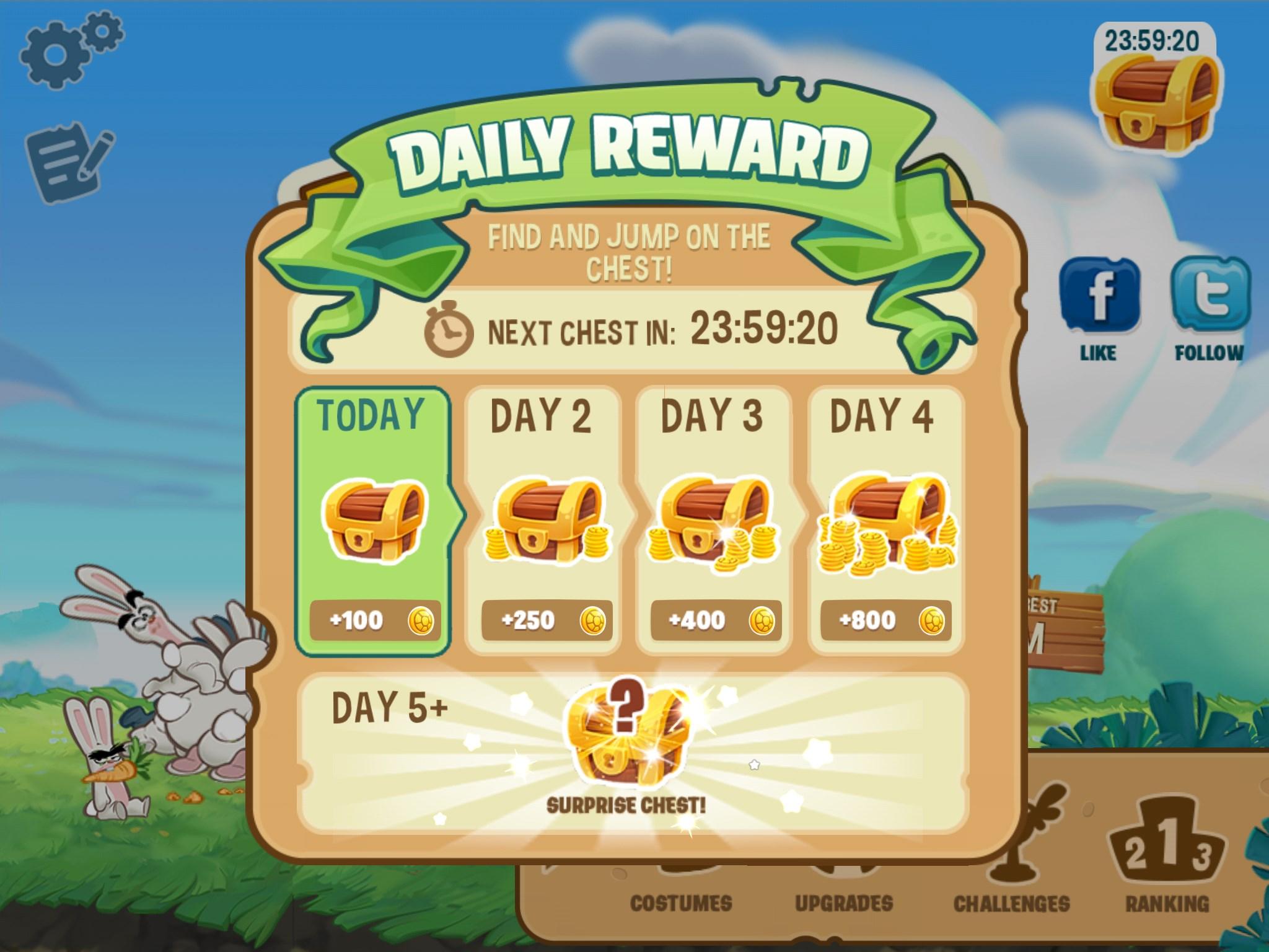 Daily rewards for mobile games | Toluna