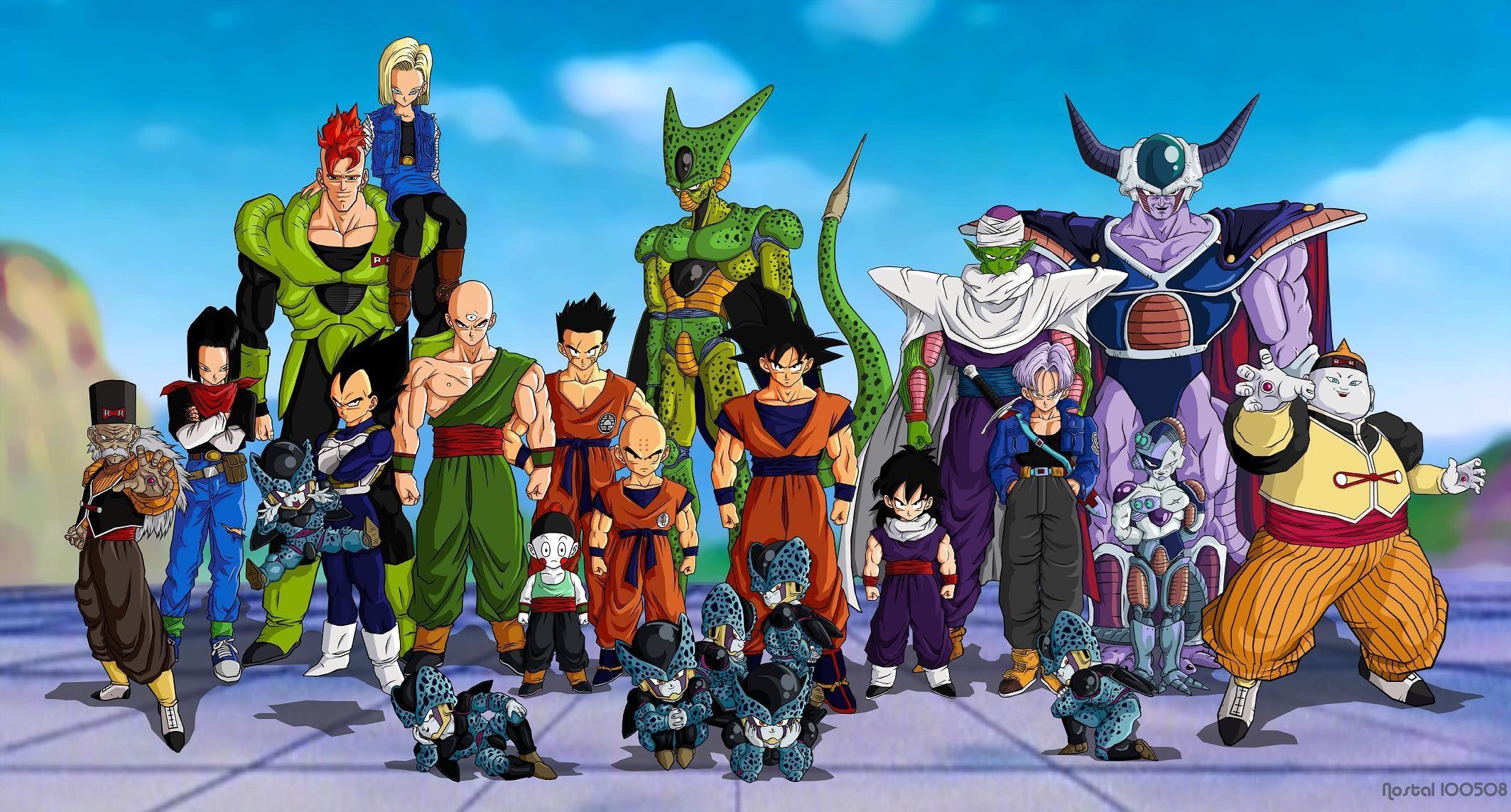 Siapa Saja Tokoh Tokoh Kartun Di Serial Dragon Ball Z Yang Menjadi