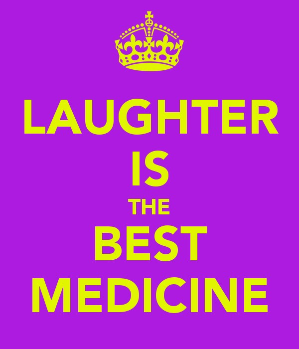 laughter is best medicine Laughter is a great thing -- that's why we've all heard the saying, laughter is the best medicine there is strong evidence that laughter can actually improve health and help fight disease.