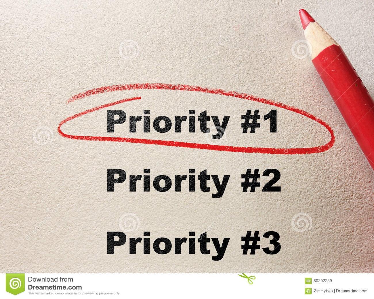 Приоритет отдается