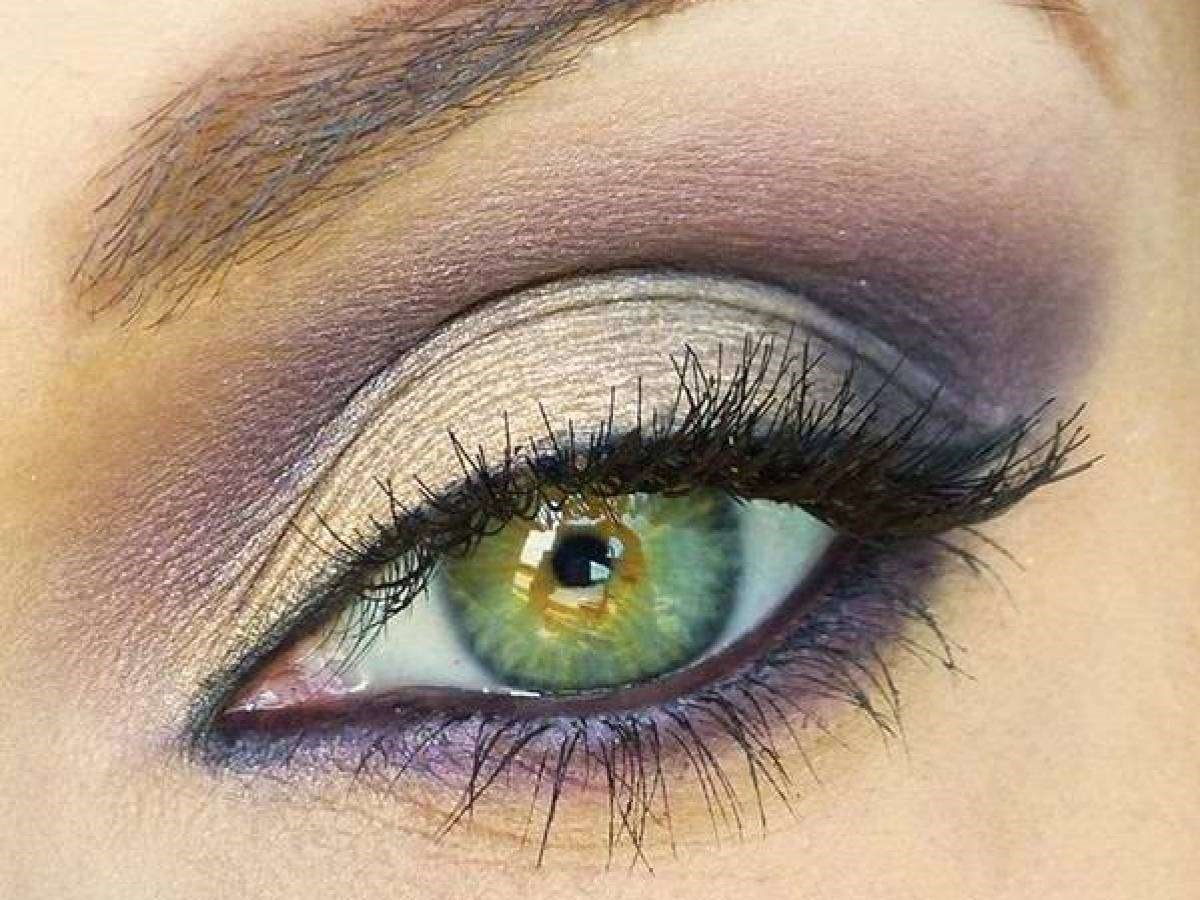 Красивый макияж к зеленым глазам фото