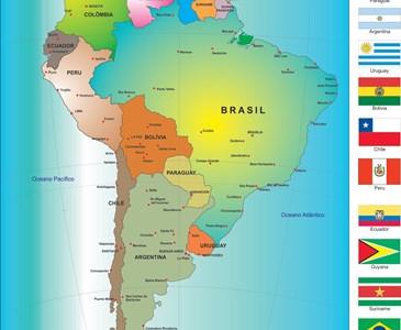 Quantas Capitais De Paises Da America Do Sul Voce Consegue Citar