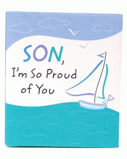 i am proud of you