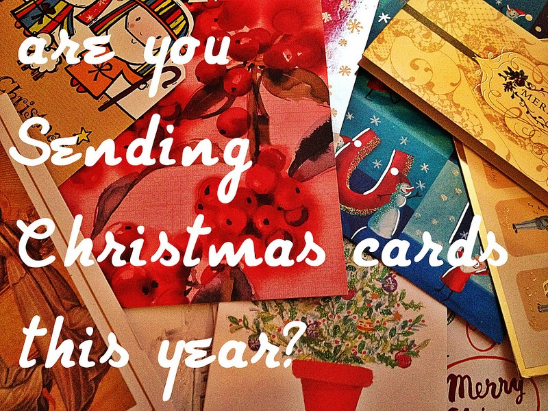 Are you sending Christmas cards this year? | Toluna