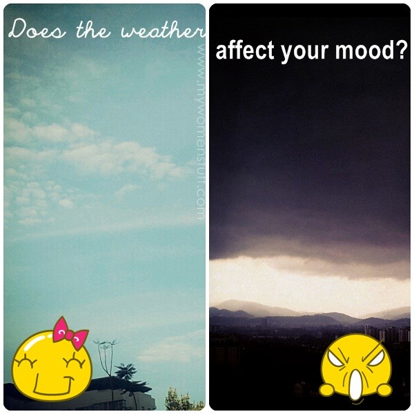 how weather effects your mood Do your joints hurt when a storm's coming you have the change in barometric pressure to thank — though your joints aren't the only part of your body affected by the weather.