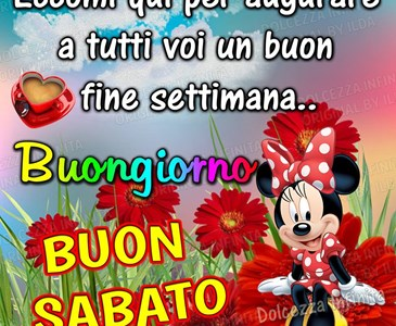 Buongiorno Amici Buon Fine Settimana A Tutti Toluna