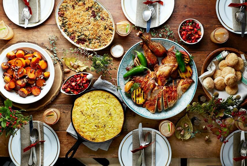 thanksgiving food pictures - 855×575