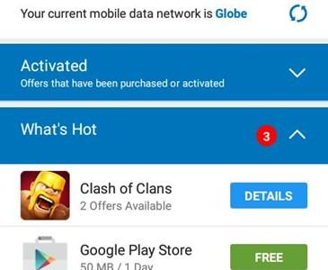 get a free data from globe switch    | Toluna