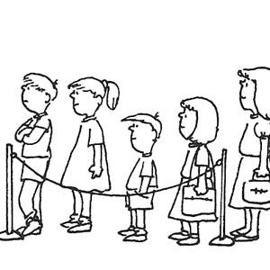 午餐吃个饭,你喜欢有排队人很多的地方(左)还是选择(右)不继续等待,另图片