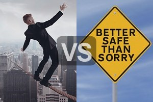 is better safe than sorry Better safe than sorry meaning, definition, what is better safe than sorry: said when you think it is best not to take risks even when it seems boring or difficult.