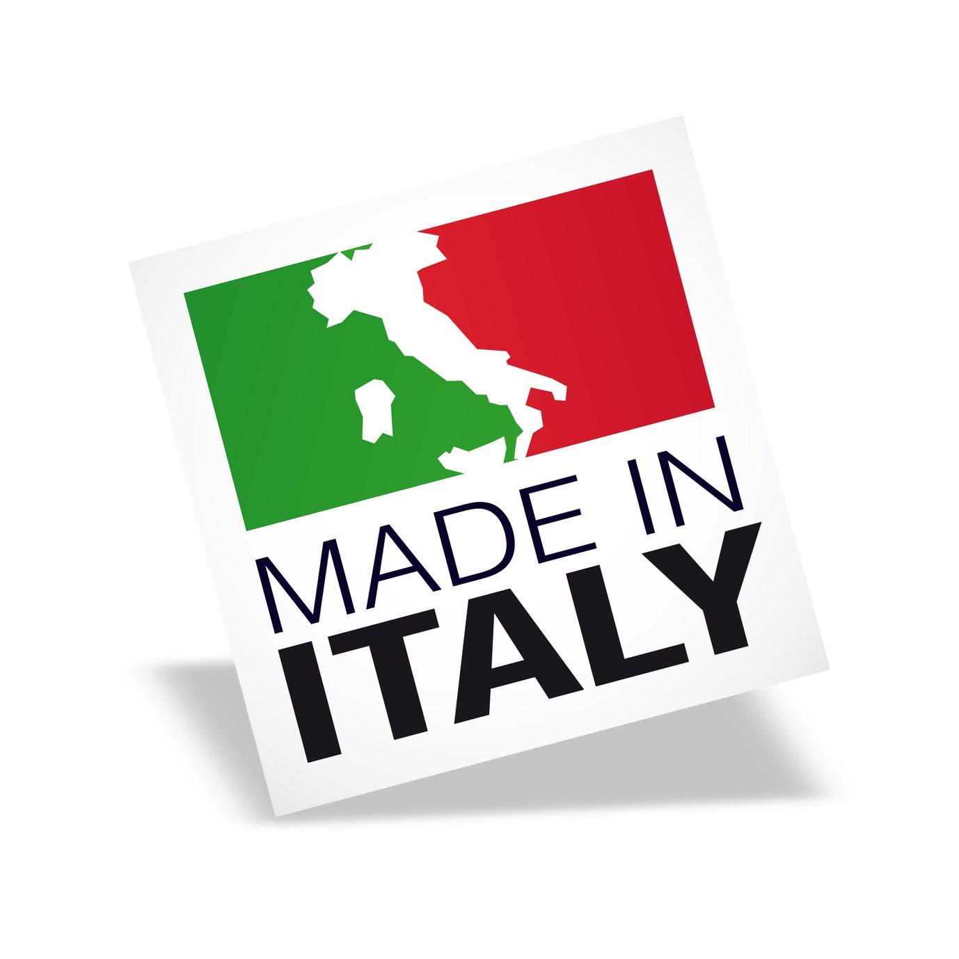 Italian fashion label logos