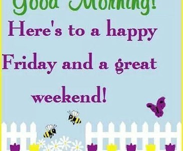 Happy friday what might you do this lovely weekend toluna happy friday what might you do this lovely weekend m4hsunfo