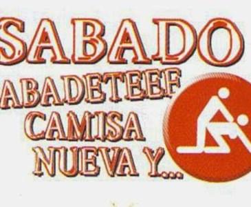 Sábado Sabadete Camisa Nueva Y Toluna