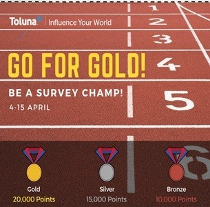 d6412b1c2f Go For Gold – Survey Champs | Toluna