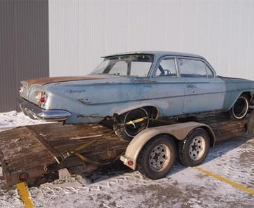 My late dad old 1961 Chevrolet Biscayne  VIN number