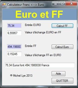 La Valeur De L Euro Face A Celle Du Franc S Approche Du Cap