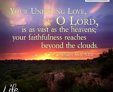 Psalm 36:5 Your steadfast love, O Lord, extends to the heavens, your  faithfulness to the clouds. | Toluna