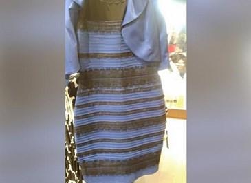 vilken färg är klänningen